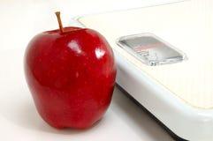 Healthy apple stock image