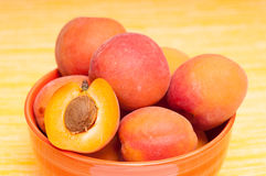 Healthy apricots Royalty Free Stock Photography