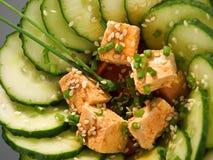 Healthy asian salad Royalty Free Stock Photography