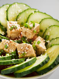 Healthy asian salad Stock Photography