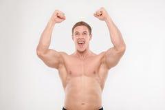 Healthy athletic man Royalty Free Stock Photo