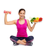 Healthy balanced lifestyle Stock Images