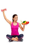 Healthy balanced lifestyle Royalty Free Stock Photo