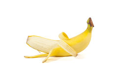Healthy banana Stock Image
