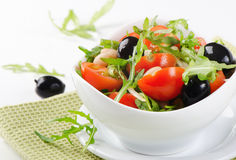 Healthy beans salad Stock Photo