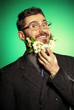 Healthy beard Stock Photography