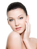 Healthy beautiful face Stock Image
