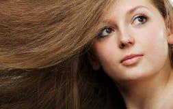 Healthy beautiful long hair Royalty Free Stock Photos