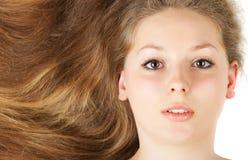 Healthy beautiful long hair Royalty Free Stock Photo