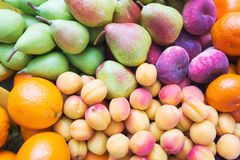Healthy, beautiful and tasty food is fruit. Vitamins and bright summer colors. Royalty Free Stock Photography