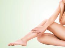 Healthy beautiful woman legs Stock Image