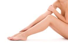 Healthy beautiful woman legs Stock Photography