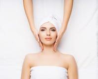 Healthy Beautiful Woman Spa Stock Fotografie