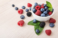 Healthy berries Royalty Free Stock Photo