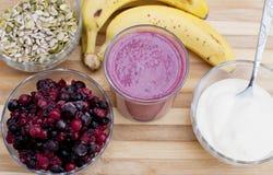Healthy berries juice Stock Image