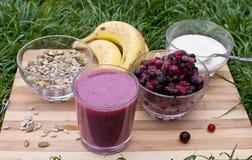 Healthy berries juice Royalty Free Stock Image