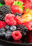 Healthy berry fruits Stock Photo