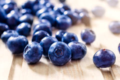 Healthy blueberries Stock Photography
