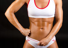 Healthy body in good shape Royalty Free Stock Images