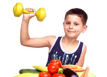 Healthy boy Stock Photography