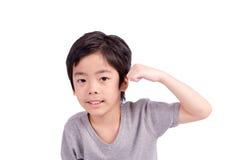 Healthy boy Stock Photo