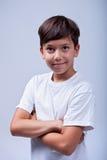 Healthy boy portrait Stock Photos