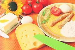 Healthy breackfast in Mediterranean  country syile Stock Photo