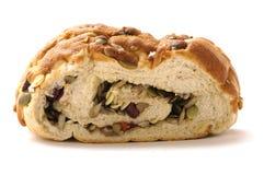 Healthy bread. Close up of sliced healthy bread Stock Photo