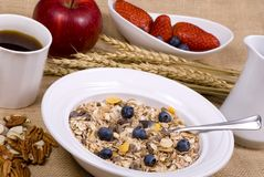 Healthy Breakfast 1 Royalty Free Stock Photography