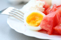 Healthy breakfast Royalty Free Stock Photos