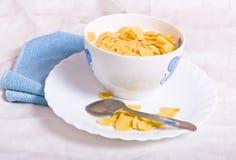 Healthy breakfast. High key studio shot of a healthy breakfast Stock Photography