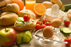 Free Healthy Breakfast Royalty Free Stock Photo - 12843145
