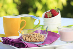 Healthy breakfast Stock Photo