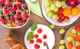 Healthy breakfast Stock Photos