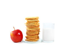 Healthy breakfast. royalty free stock photography
