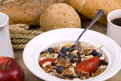 Healthy Breakfast 3 Royalty Free Stock Photos