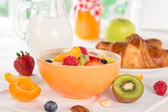 Free Healthy Breakfast Royalty Free Stock Photos - 55996148