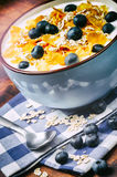 Healthy breakfast with cereal Stock Photography