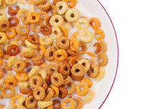 Healthy breakfast with cereal and milk Stock Photography