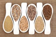 Healthy Breakfast Cereal stock image