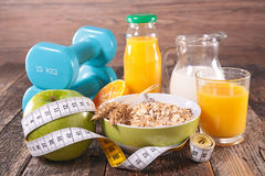 Healthy breakfast concept Royalty Free Stock Image