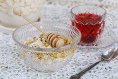 Healthy breakfast. Royalty Free Stock Photo