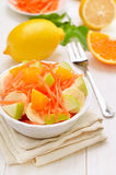 Healthy breakfast. Fruit salad Royalty Free Stock Photos