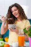 Healthy breakfast for a healthy life Stock Photos
