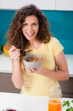 Healthy breakfast for a healthy life Royalty Free Stock Photography