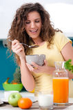 Healthy breakfast for a healthy life Stock Photography