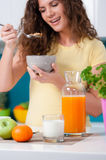 Healthy breakfast for a healthy life Stock Photo