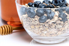 Healthy Breakfast on the light background Royalty Free Stock Photo