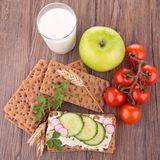 Healthy breakfast or meal Stock Image