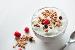 Healthy breakfast mix Stock Photography